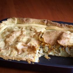 Potato & Onion Pie (Vegetarian) recipe
