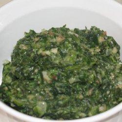 Gulliver's Creamed Spinach recipe