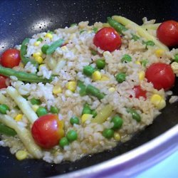 Easy Brown Rice Pilaf recipe