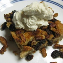 Bread Pudding With Chantilly Cream recipe