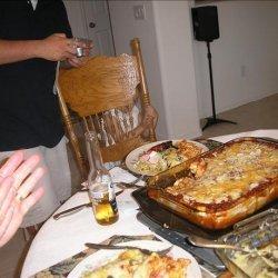 Delicious  Meat and Spinach Manicotti recipe