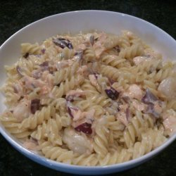 Penne Pasta With Salmon recipe