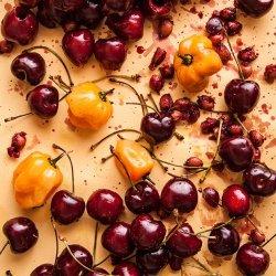 Hot Cherry Sauce recipe