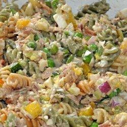 Summer Tuna & Pasta Salad recipe