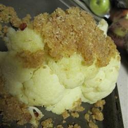 Baked Whole Cauliflower recipe