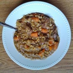 Barley Beef Stew recipe