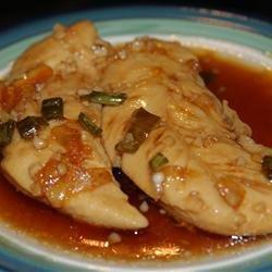 Easy Stovetop Chicken Teriyaki in Orange Ginger Garlic Sauce recipe