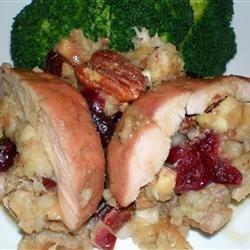 Cranberry Apple Stuffed Pork Loin recipe