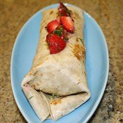 Spicy Turkey Wraps with Strawberry Salsa recipe