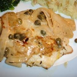Chicken with Buttery Lemon Cream Sauce recipe