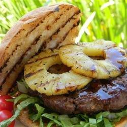 Pineapple Teriyaki Burgers recipe