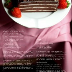 Strawberries With Chocolate Cream Filling recipe