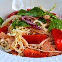 Bacon & Tomato Spaghetti recipe