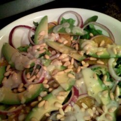 Miriam's Salad With Poppy Seed Dressing recipe