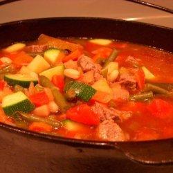 Beef Minestrone Soup recipe