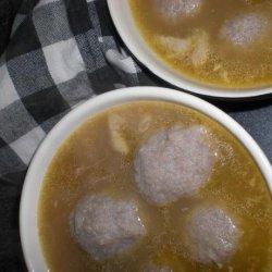 Matzo Ball Chicken Soup (Kosher) recipe