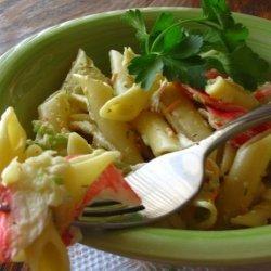 Mima's Crab and Pasta Salad recipe