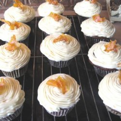 Chocolate Orange Cupcakes With Limoncello Frosting recipe