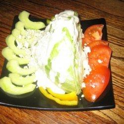 The Blue Wedge Salad recipe