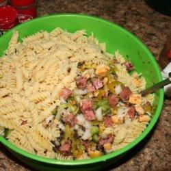 Laouli's Pasta Salad recipe