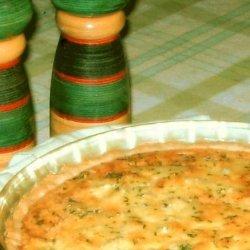 Simply Elegant Artichoke Quiche recipe
