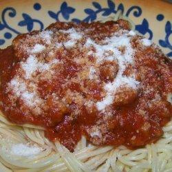 Mimi's Fantastic Thick Spaghetti Sauce recipe