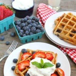 Yogurt Waffles recipe
