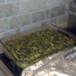 Passover Spinach Kugel recipe