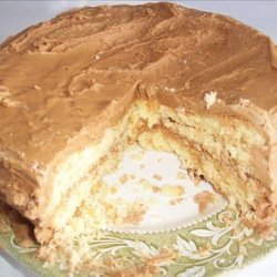 Layer Cake With Caramel Frosting recipe