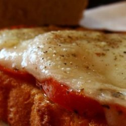 Roasted Tomato and Swiss Cheese Sandwich recipe