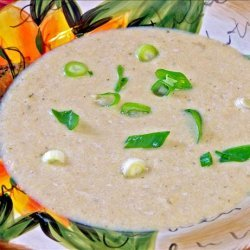 Roasted Vidalia Onion and Garlic Soup recipe