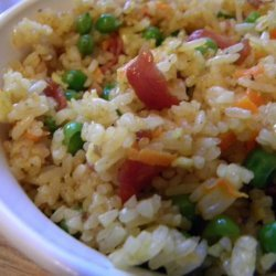 Fried Rice With Bacon recipe