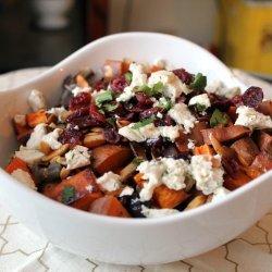 Roasted Sweet Potato Salad recipe