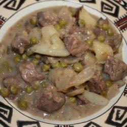 Beef Stew Stroganoff recipe