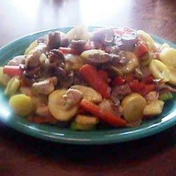 Garden Chicken Stir Fry recipe