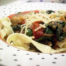 Fried Tomato, Onion, and Mushroom Ragout recipe