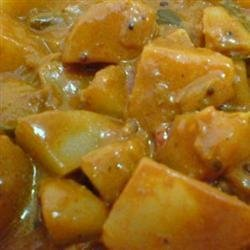 Delightful Indian Coconut Vegetarian Curry in the Slow Cooker recipe