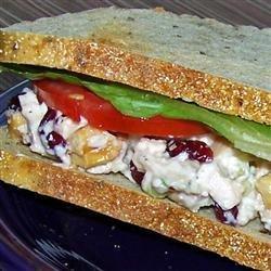Grilled Chicken Salad Sandwich recipe