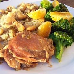 Slow Cooker Cashew Chicken recipe