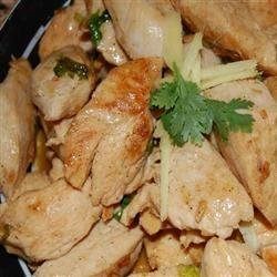 Kim's Stir-Fried Ginger Garlic Chicken recipe
