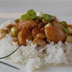 Thai Chicken with Cashew Nuts recipe