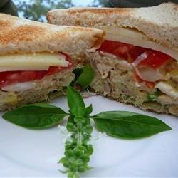 Cheggy Salad Sandwiches recipe