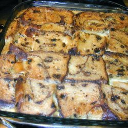 Apple Raisin Bread Pudding recipe