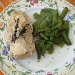 Chicken With Thyme and Cream Sauce - Crock-Pot (ZWT8) recipe