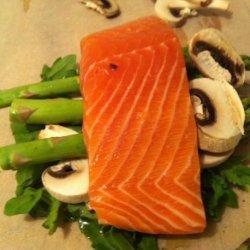 Salmon En Papillote (Asian Twist) recipe