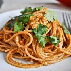 Chicken and Spaghetti recipe