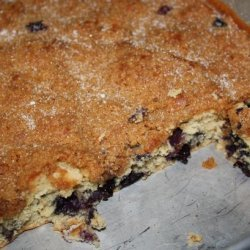 Delicious Blueberry Coffee Cake With Crumb Topping recipe