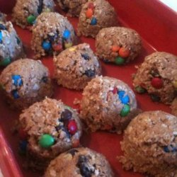 No Bake Peanut Butter Protein Snacks recipe