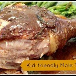 Chicken With Mole Sauce recipe