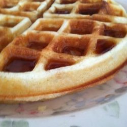 Classic Belgian Waffle recipe
